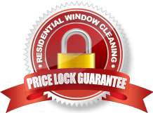 Residential Window Cleaning Price Lock Guarantee